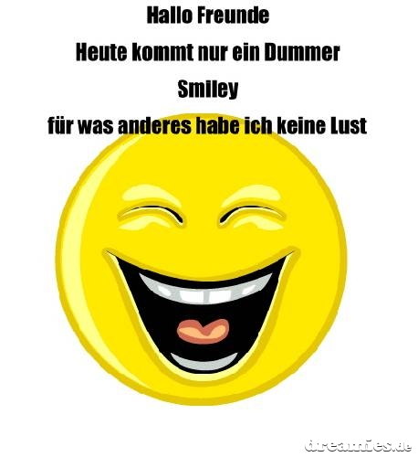 Keine Lust Smiley