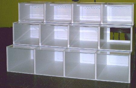 Verkauf-Display mit Innenblende für LED Strips /Neu!